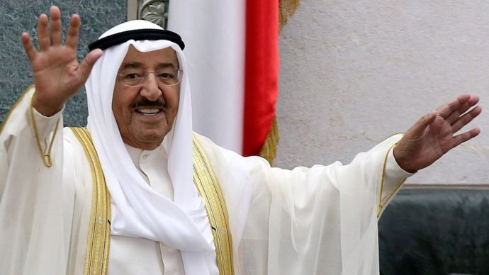 Sabah Al-Ahmad Al-Yaber Al Sabah ha gobernado Kuwait desde enero de 2006.
