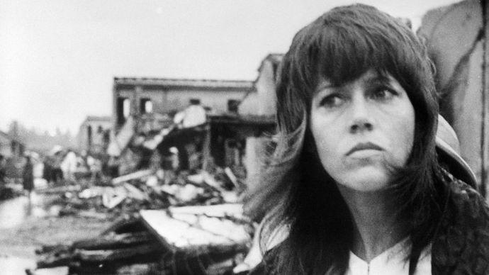 Jane Fonda en Hanói, en 1972