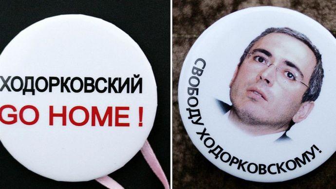 Mijaíl Khodorkovski.
