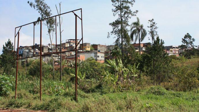 Terreno donde se construirá el proyecto
