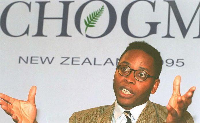 Ken Wiwa, son of condemned Ogoni human rights activist Ken Saro-Wiwa