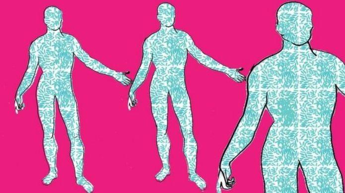 กว่าครึ่งหนึ่งของร่างกายคนเราไม่ใช่มนุษย์
