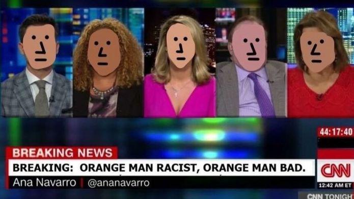 CNN NPC meme