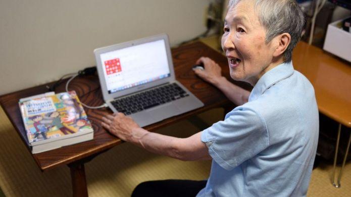Masako Wakamiya kod yazıyor