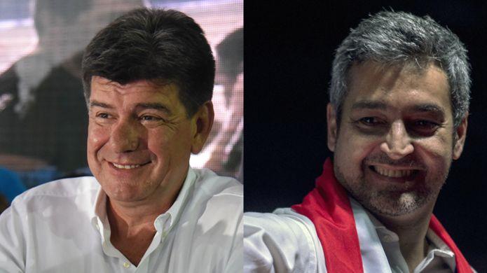 Efraín Alegre y Mario Abdo