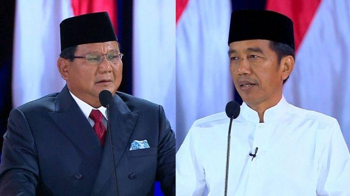 Başkanlık için Prabowo ve Widodo yarıştı
