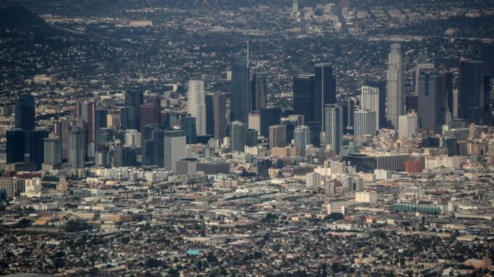 Vista de Los Angeles.