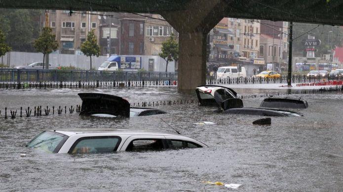 İstanbul'da yağmur