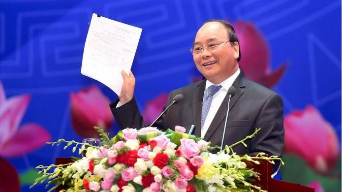 Thủ tướng tại Hội nghị của Thủ tướng Chính phủ với Doanh nghiệp diễn ra ngày 17/5