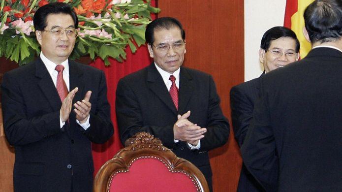Lãnh đạo Trung - Việt hồi 2006