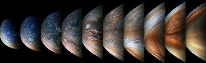 ผู้คนได้ดาวโหลดภาพถ่ายดาวพฤหัสบดีและนำมาประมวลผล ช่วยเผยให้เห็นรายละเอียดใหม่ ๆ ของพื้นผิวดาวพฤหัสบดี