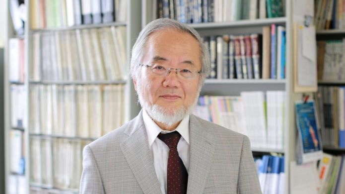Yoshinori Ohsumi, Japanese scientist winner of the Nobel Prize in 2016