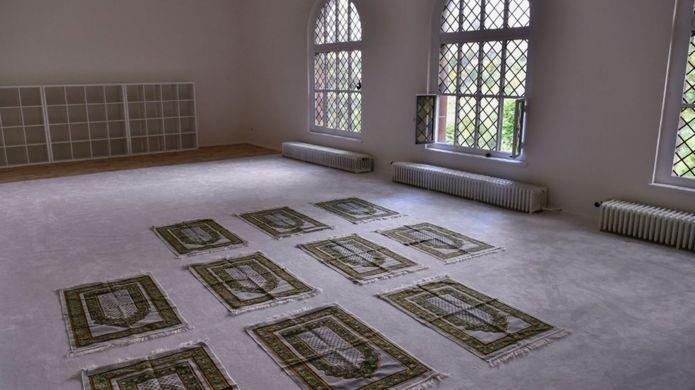 İbn Rushd-Goethe Camii'nin içi