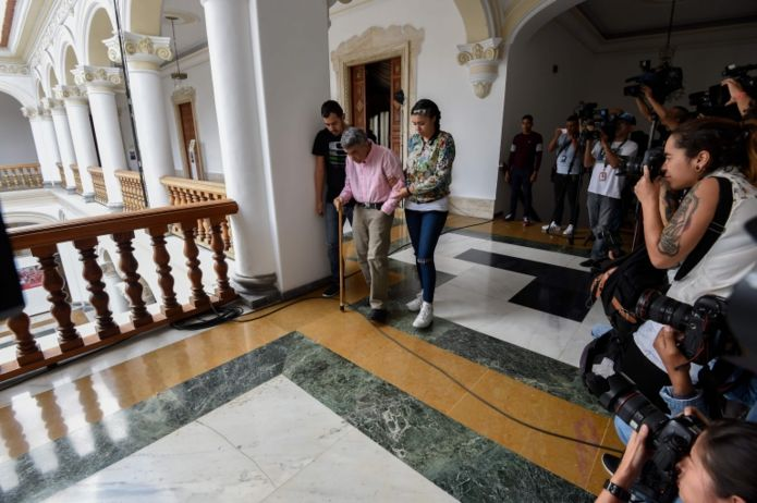 El general retirado Ángel Omar Vivas es otro de los liberados.