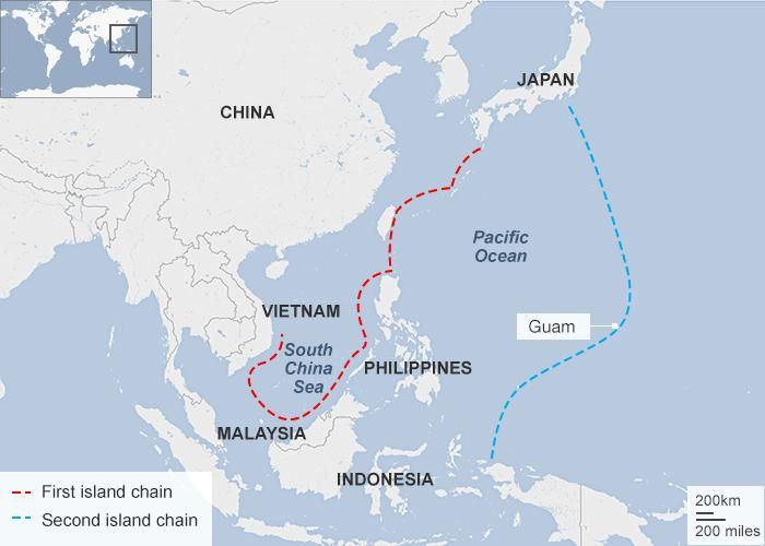 A map of island networks in the South China Sea