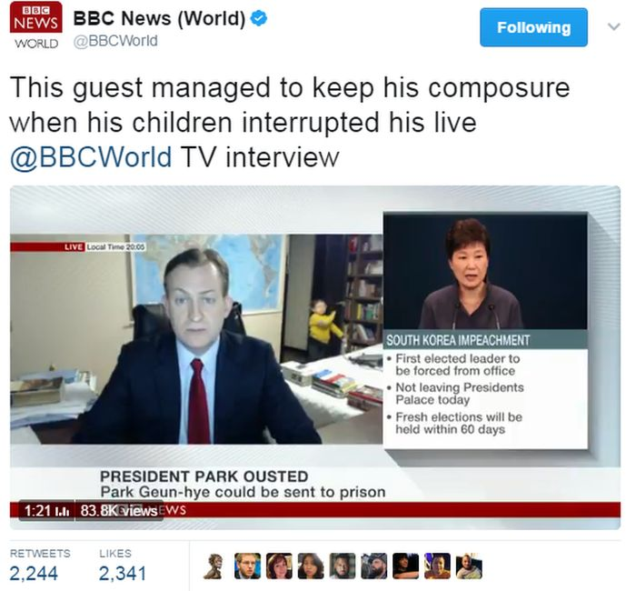 BBC World tweet