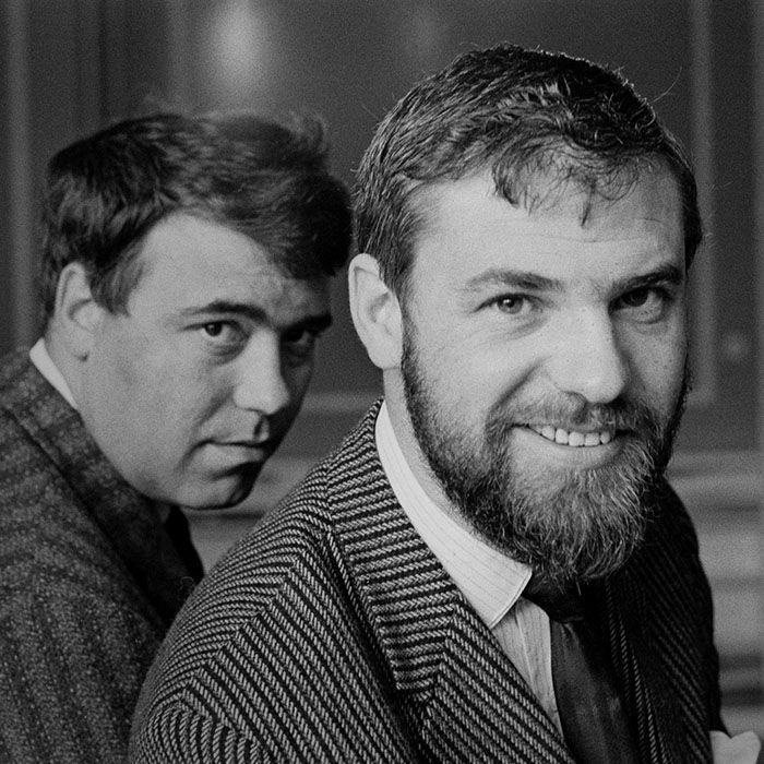 Ray Galton (r) with Alan Simpson
