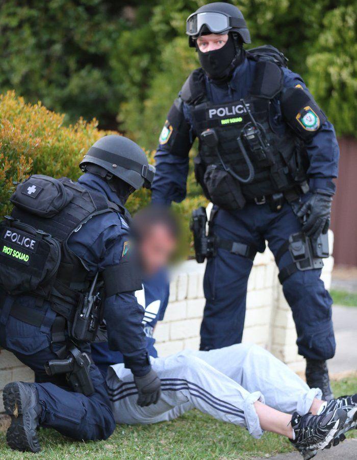 Merrylands arrest