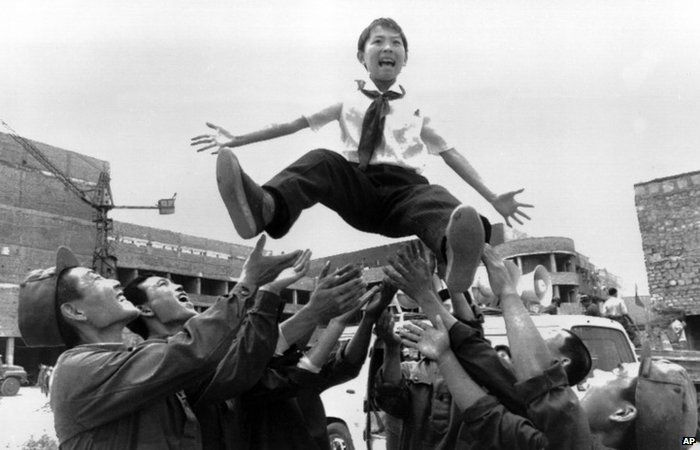 In this June 1998 photo from North Korea's official Korean Central News Agency, distributed by Korea News Service, Kim Jong-chol as small child
