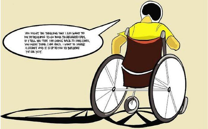 Page 24 Wheelchair Man