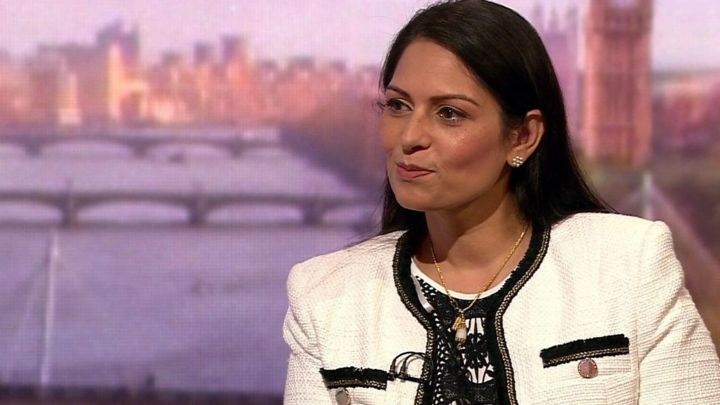 Priti Patel: Government focus is 'leaving with a deal'