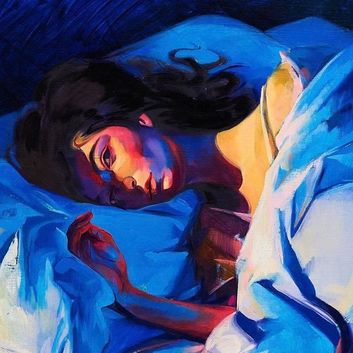 Lorde revealed the cover art on her Twitter feed