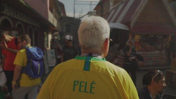 Финал ЧМ для мамы: трогательная история бразильского болельщика