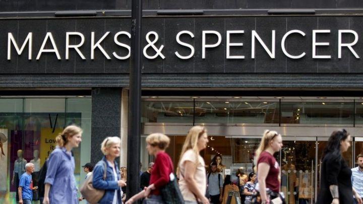 d810bc7fbe5 M S sales and profits fall amid shake-up - BBC News