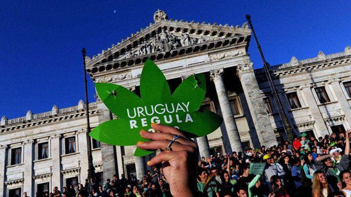 Resultado de imagen de El sistema financiero internacional traba la ley uruguaya del cannabis