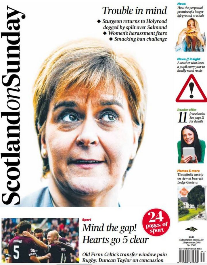 The papers sturgeon returns and brexit vow bbc news fandeluxe Image collections
