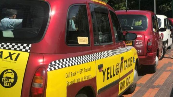 yellow cab surrey
