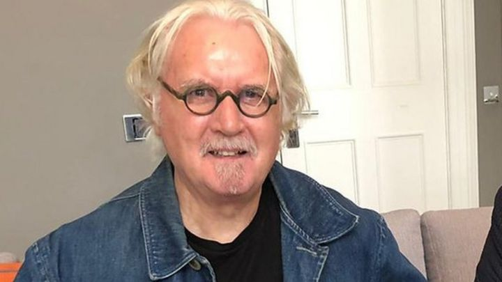 Sir Billy Connolly answers questions from his fellow comedians