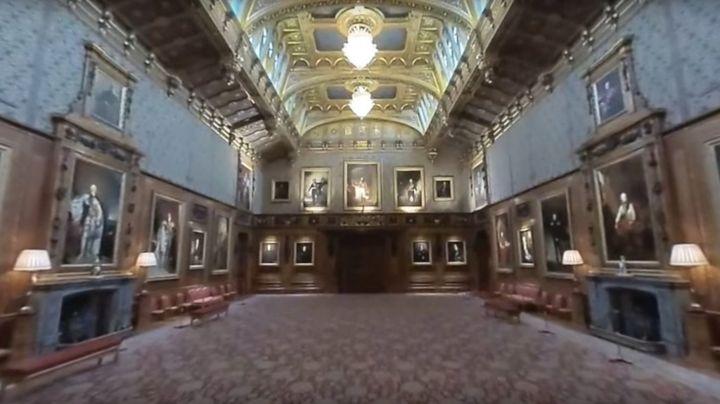 Inside Windsor Castle - 360° video