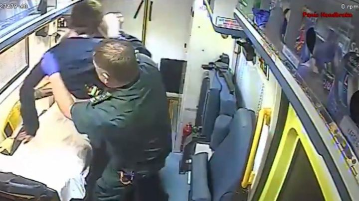 Patient attacks paramedic as he is treated in ambulance