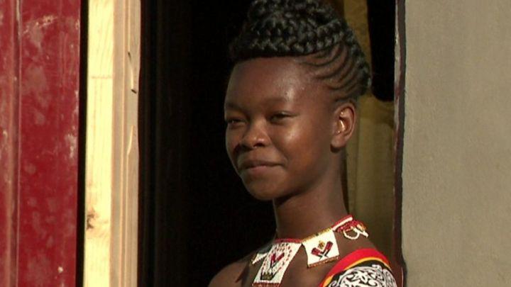 The teen designing Eswatini's traditional regalia