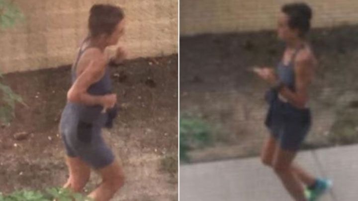Jogging woman wey dey always poo-poo for somebody dormot - BBC News