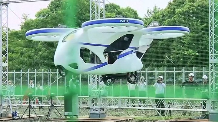 Japan's newest flying car takes to the air and other news