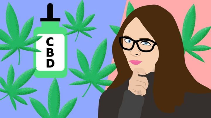 CBD oil, made from cannabis, is popular for calming anxiety
