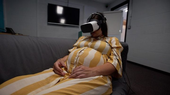 The Cardiff hospital testing virtual reality with labour