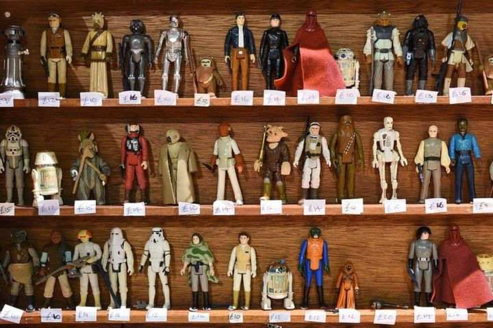 "Star wars loose 3.75/"" loose action figure-Logray POTF-Re-Make 1 de 3"