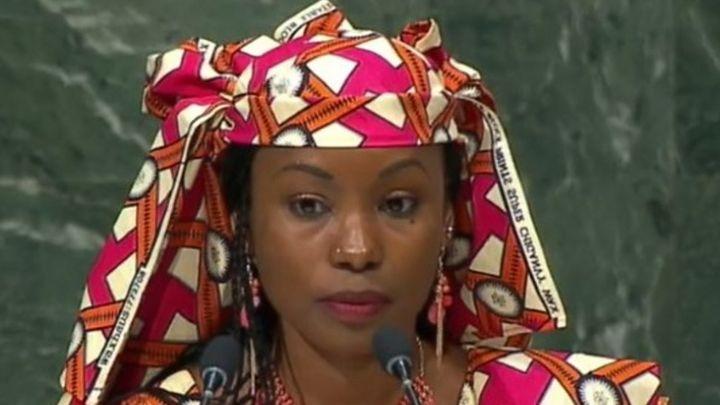 Hindou Oumarou Ibrahim se bat pour la reconnaissance des peuples autochtones au Tchad.