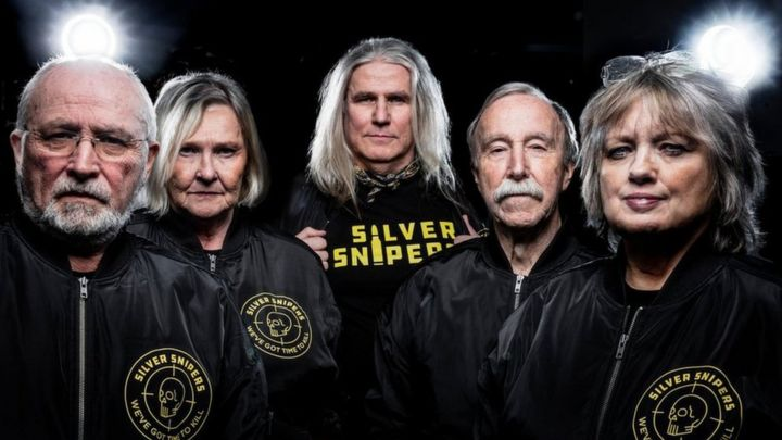 Silver Snipers: The gaming team with an average age of 67