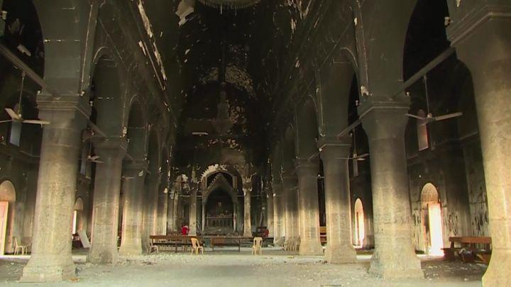 'Destruam nossos filhos antes de nossas igrejas': cristãos iraquianos falam sobre devastação deixada pelo EI em Mossul