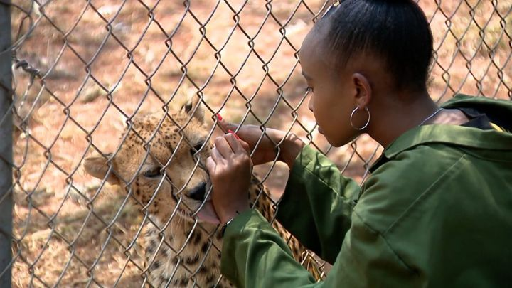 Teen conservationist: 'Why I adopted a cheetah'