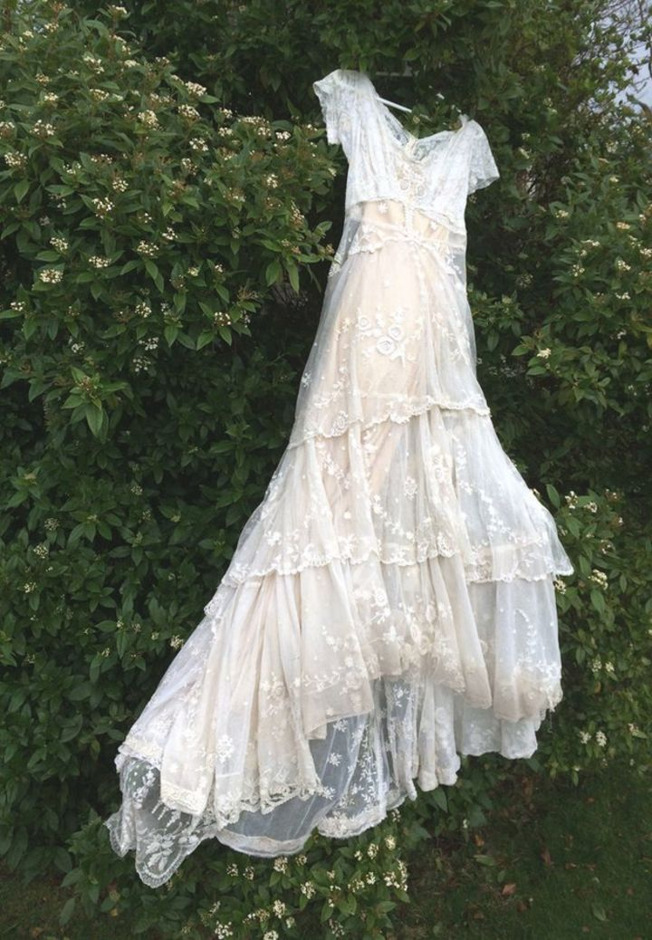 150 Year Old Lost Wedding Dress Returned To Family Bbc News