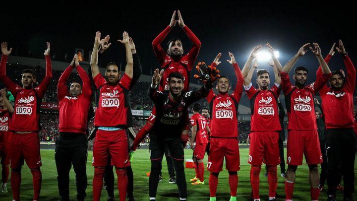 قهرمانی 10 فوتبال تیم ایران لیگ پرسپولیس در
