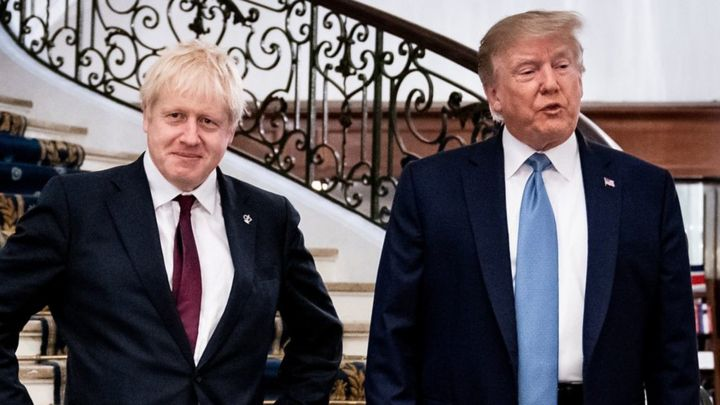 G7: Trump praises Johnson as 'right man' to deliver Brexit