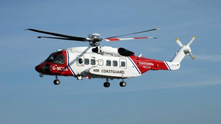 Man airlifted to hospital after Portgordon harbour recue