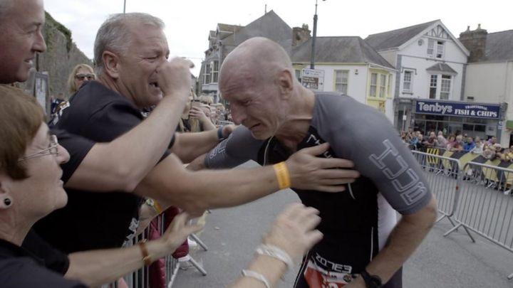 Gareth Thomas takes on Ironman Wales to 'break HIV stigma'