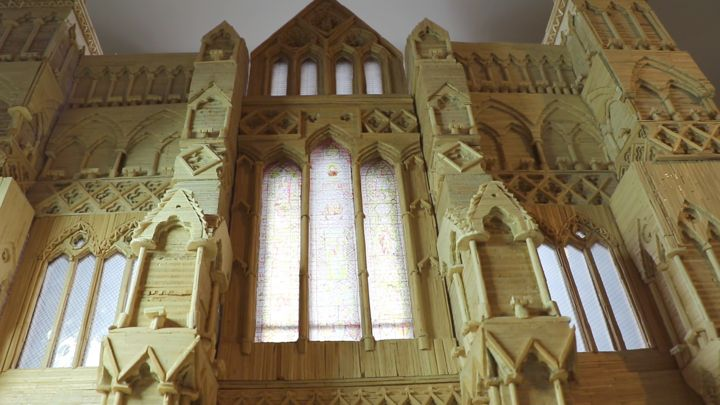 Building Salisbury Cathedral out of matchsticks